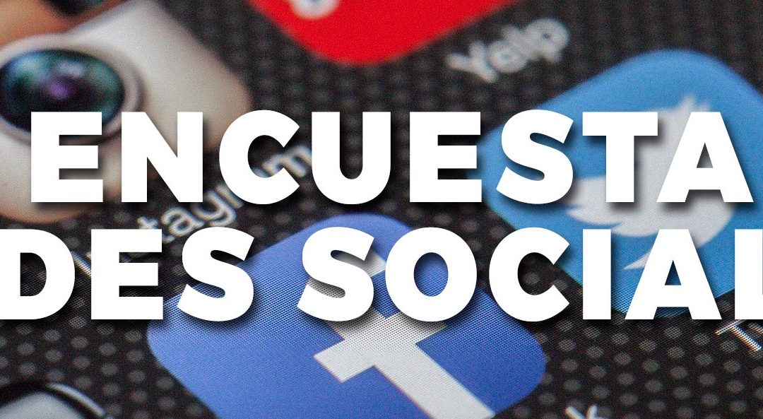 Encuesta sobre contenidos de redes sociales