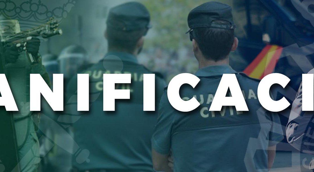 Planificación temarios Policía Nacional y Guardia Civil