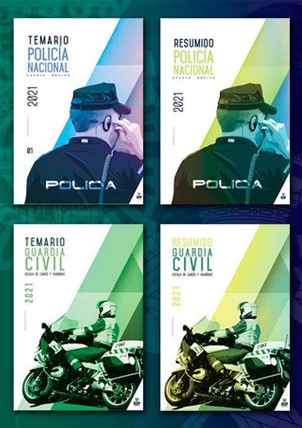 Temarios Policía Nacional y Guardia Civil