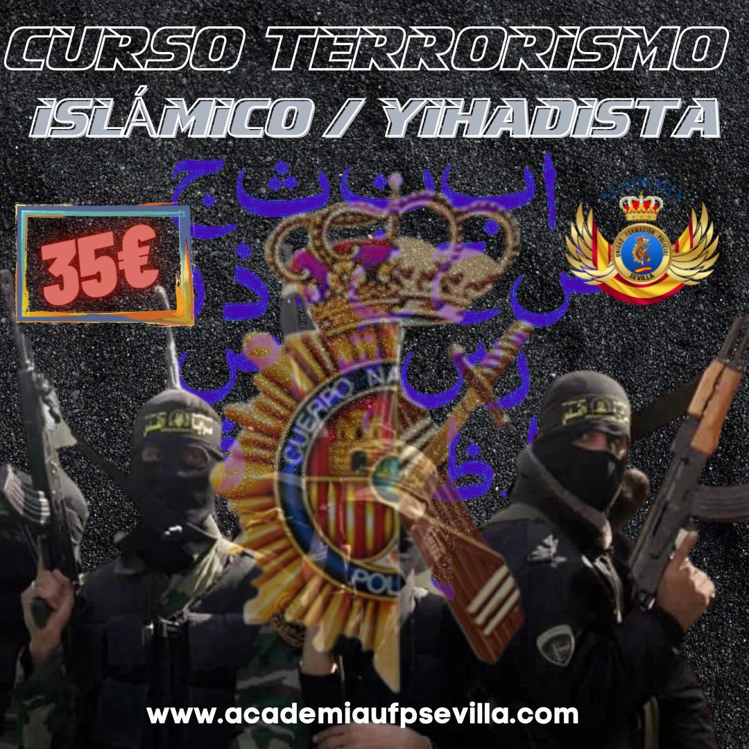 Curso terrorismo islámico/yihadista